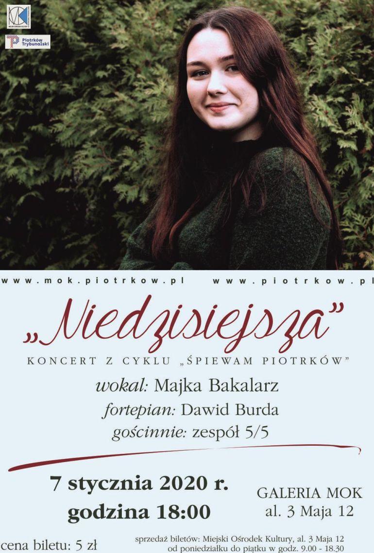 Koncert Majki Bakalarz w piotrkowskim MOK