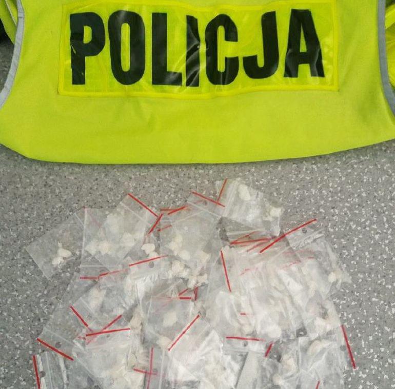 53 gramy narkotyków w bmw mieszkańca powiatu piotrkowskiego
