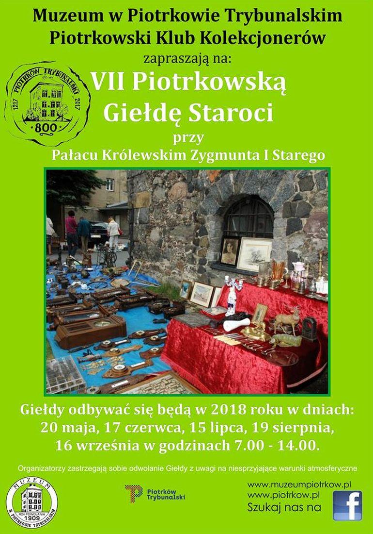 Muzeum w Piotrkowie zaprasza na sierpniową giełdę staroci