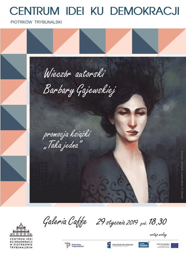 Wieczór autorski Barbary Gajewskiej