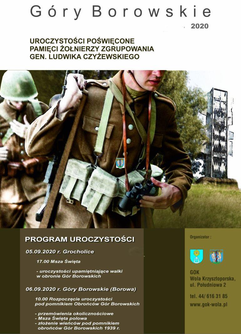 Zapraszają na uroczystości upamiętniające walki na Górach Borowskich