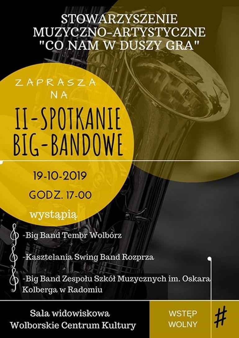 II Spotkanie Big Bandowe w Wolborskim Centrum Kultury
