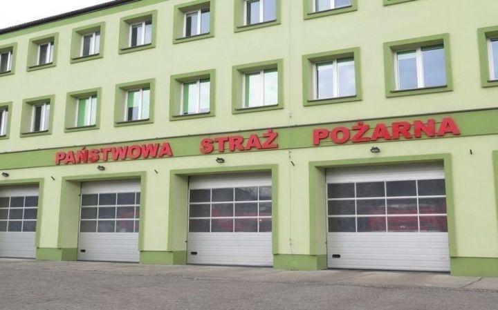 Pożar domu w gminie Moszczenica