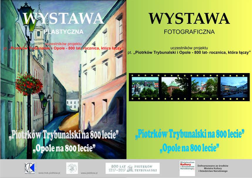 Piotrków i Opole na 800-lecie