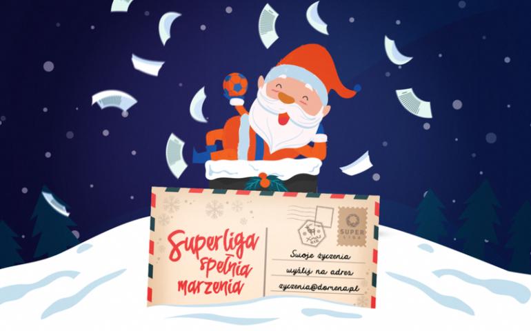 Superligowy Święty Mikołaj dopiero rozda prezenty