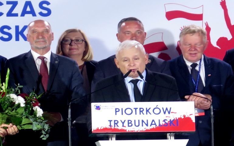 Prezes Jarosław Kaczyński gościł w Piotrkowie (VIDEO)