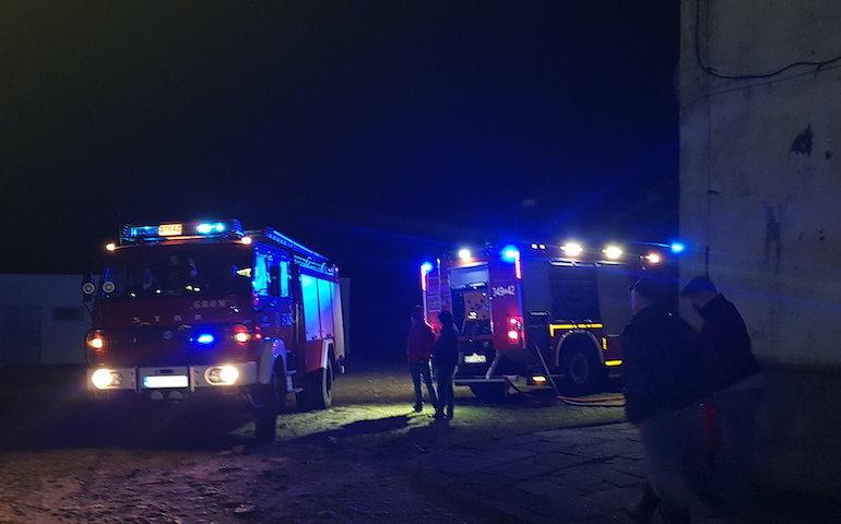 Pożar w Gorzkowicach
