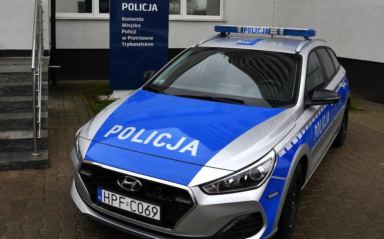 Piotrkowska policja ma nowy radiowóz