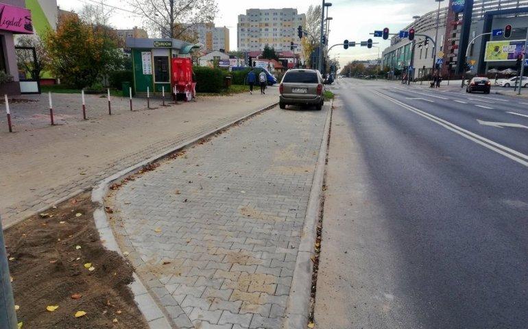 Nowa zatoka postojowa w Piotrkowie