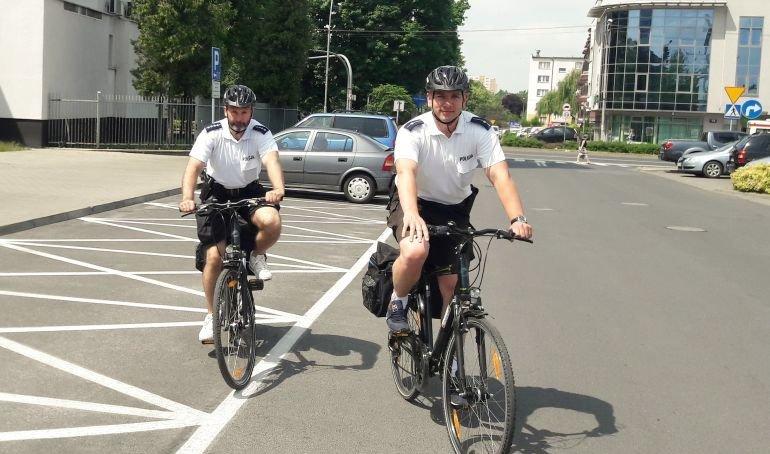 Rowerowe patrole po raz siódmy na ulicach Piotrkowa