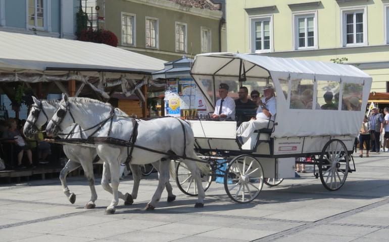 Piotrkowianie podróżowali w starym stylu