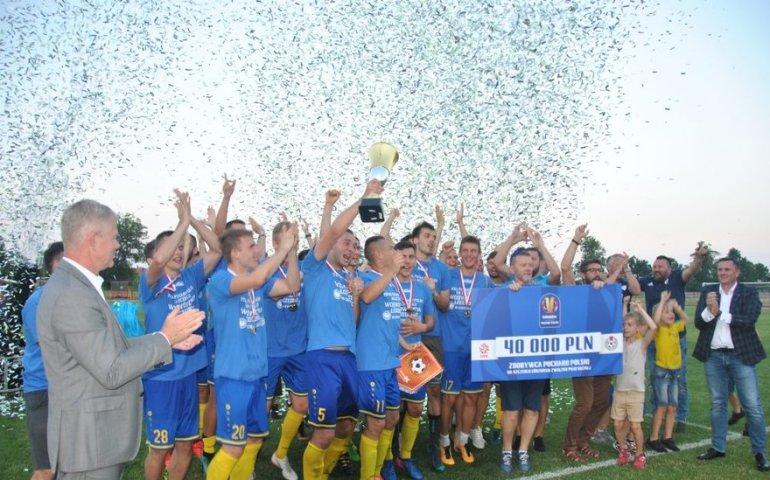 Wielkie piłkarskie emocje w Piotrkowie. Unia Skierniewice z Pucharem Polski