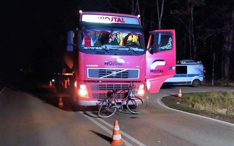 Zginęła rowerzystka potrącona przez tira