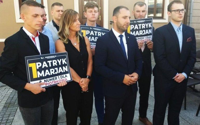 """Bełchatowianin """"Jedynką"""" Konfederacji w okręgu piotrkowskim"""