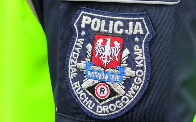 Kolizja na DK12 w Sulejowie