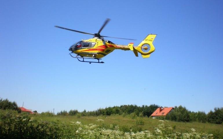 10-letnia dziewczynka ranna w wypadku