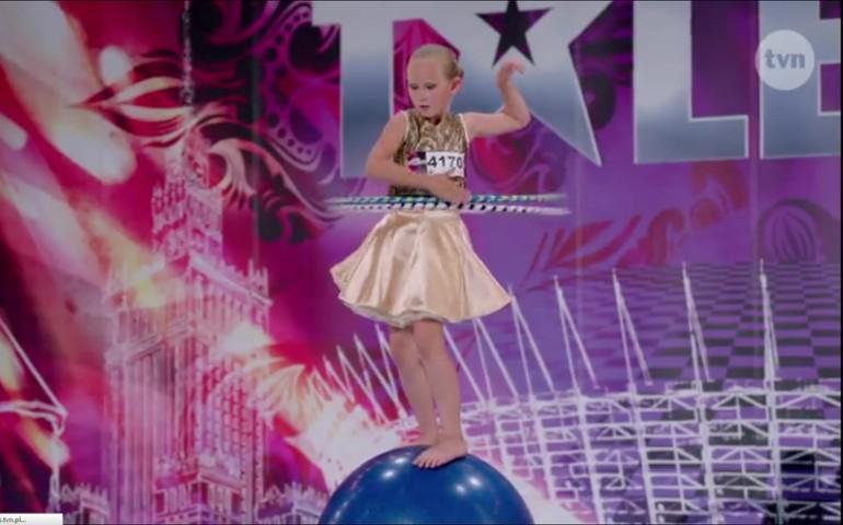 Mała piotrkowianka w półfinale Mam Talent