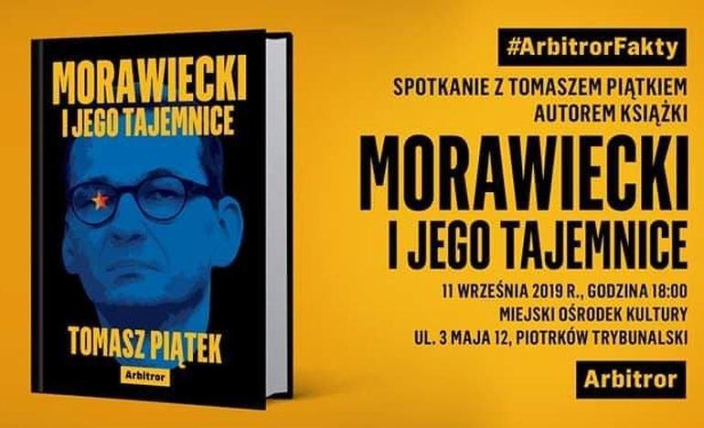 Spotkanie z autorem książki o tajemnicach M. Morawieckiego