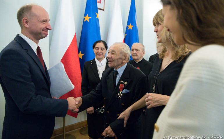 Honorowy członek AZP odznaczony przez Prezydenta RP