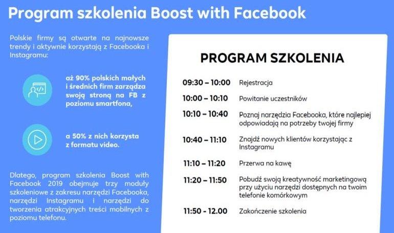 Facebook przeszkoli przedsiębiorców z Piotrkowa
