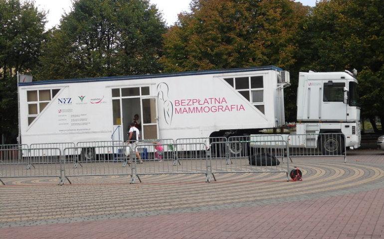 Mammobusy przyjadą do gmin powiatu piotrkowskiego