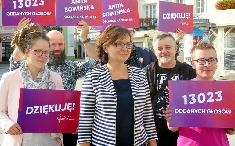 Poseł Anita Sowińska przedstawiła plany na najbliższe miesiące