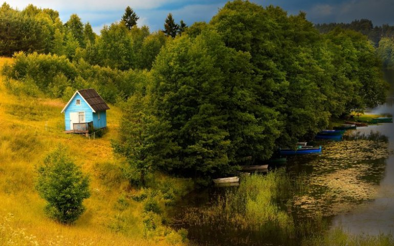Lato na łonie natury – nowoczesne domki letniskowe