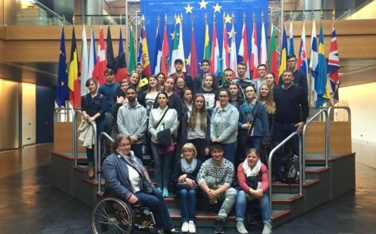 Uczniowie z ZSP nr 5 wrócili z Esslingen
