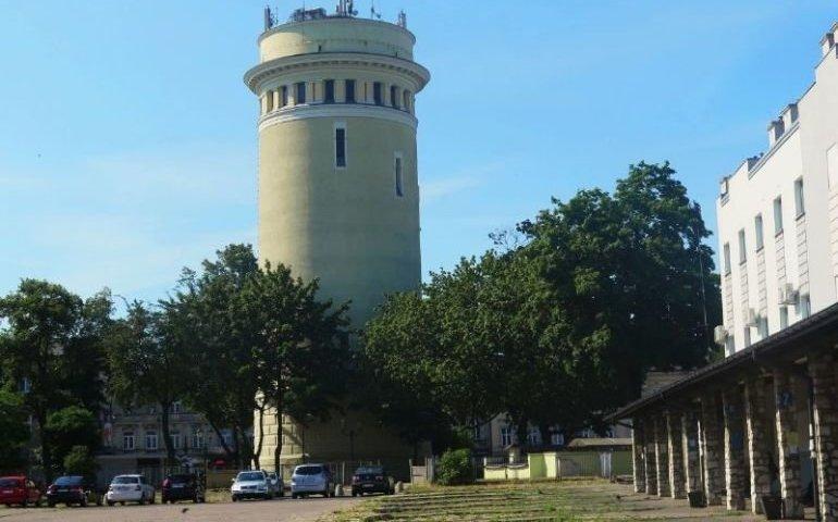 Wieża ciśnień wreszcie dostępna dla turystów?