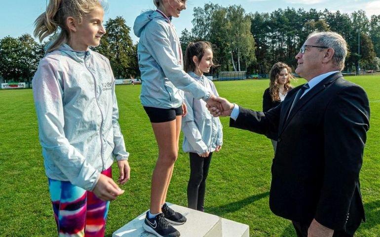 Zawodnicy LZS biegali w Wolborzu