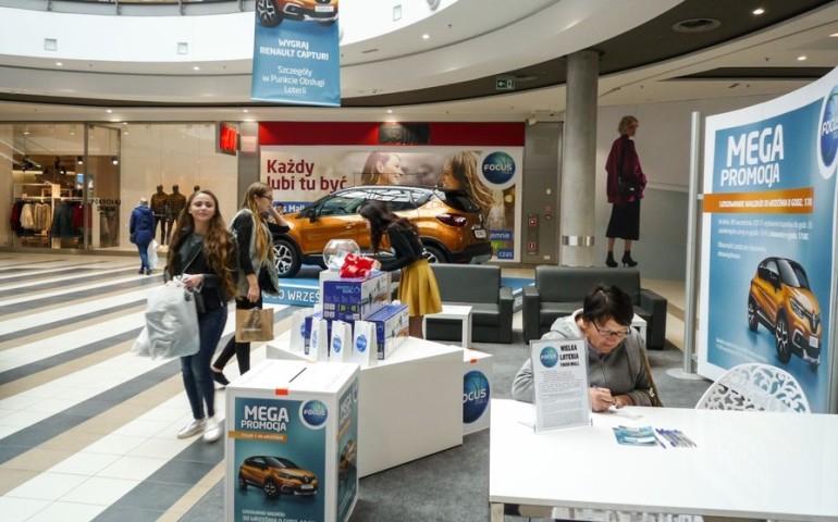 Wygraj renault captur w Focus Mall Piotrków Trybunalski!