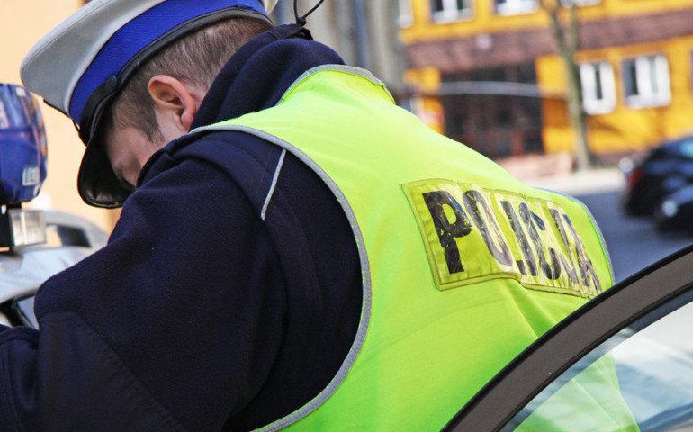 Obywatelskie zatrzymanie pijanego kierowcy w Piotrkowie