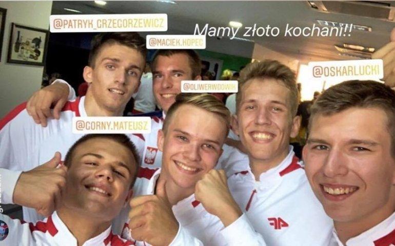 Mateusz Górny wywalczył złoto w Baku!