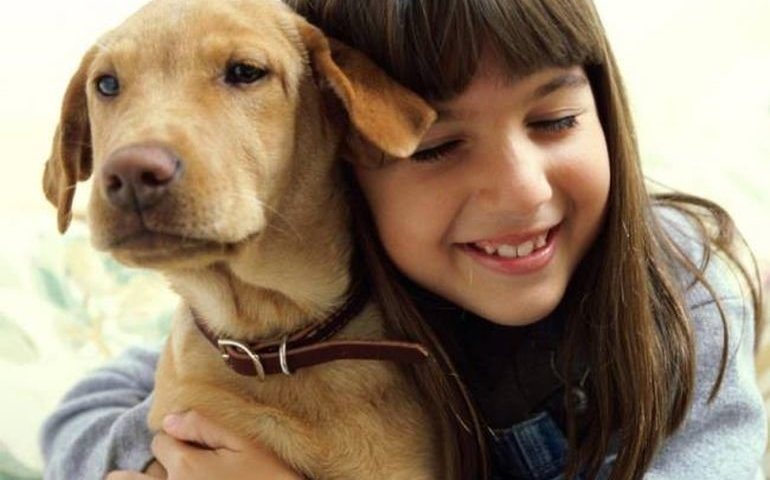 Kiedy mam zły dzień, przytulam się do psa