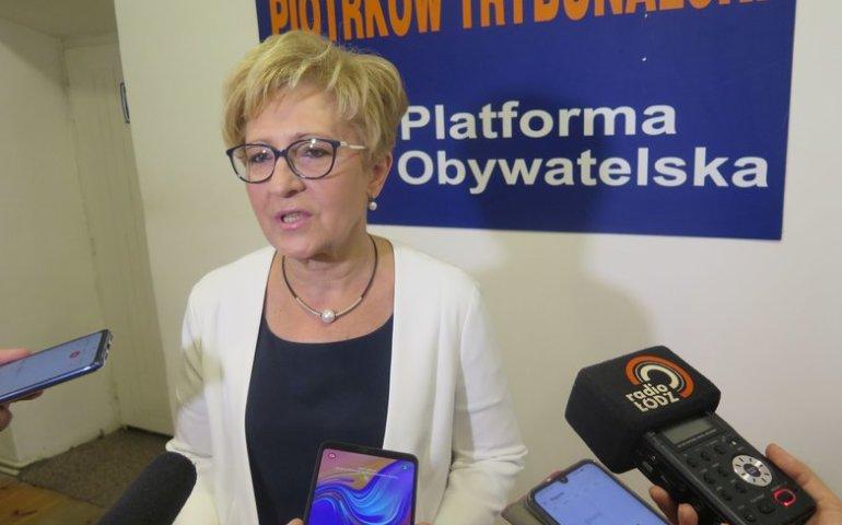 Elżbieta Radziszewska rezygnuje z walki o mandat poselski