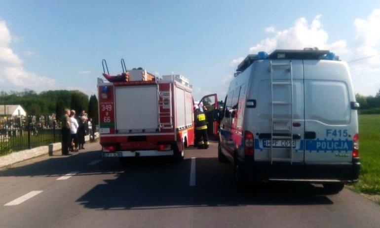 Zderzenie dwóch osobówek w Mierzynie