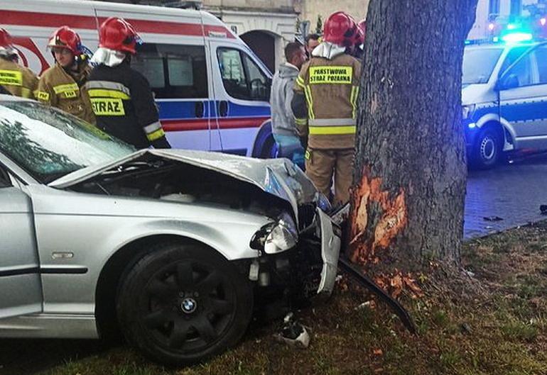 Jedna osoba ranna w wypadku
