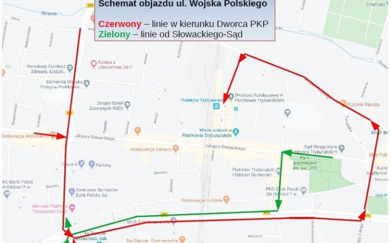 Spółka MZK zmieniła trasy autobusów