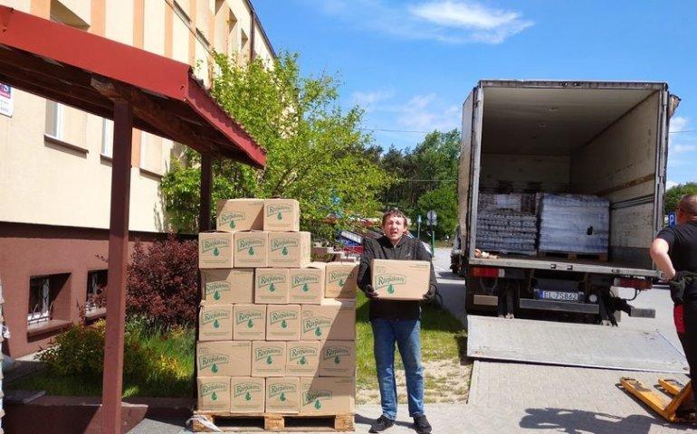 Pomoc Żywnościowa dotarła do Sulejowa
