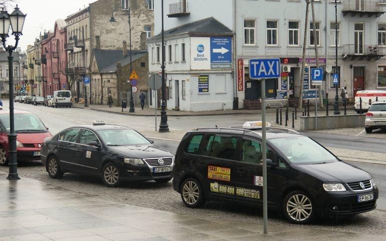 Piotrkowscy taksówkarze nie mają lekko