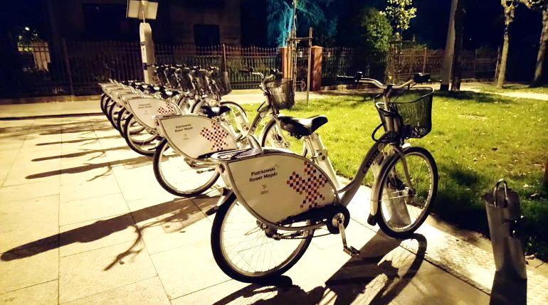 Miejskie rowery zniknęły ze Słoneczka...