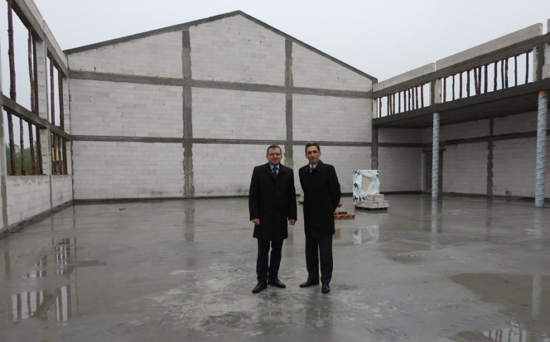 Trwa budowa sali gimnastycznej w Aleksandrowie