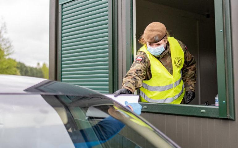 Terytorialsi pomogą w pobieraniu próbek