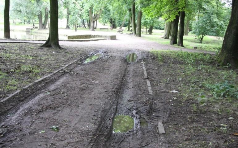 Chcą odtworzyć taras widokowy w parku Belzackim