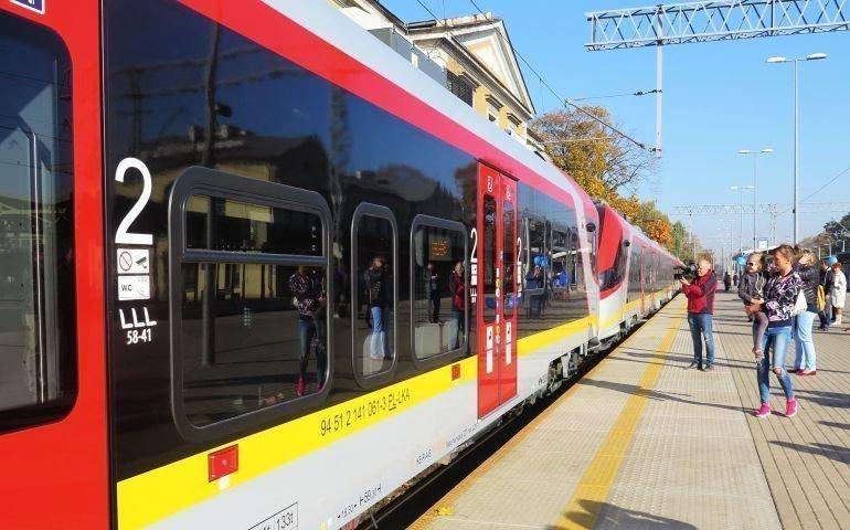 Więcej pociągów ŁKA w Piotrkowie