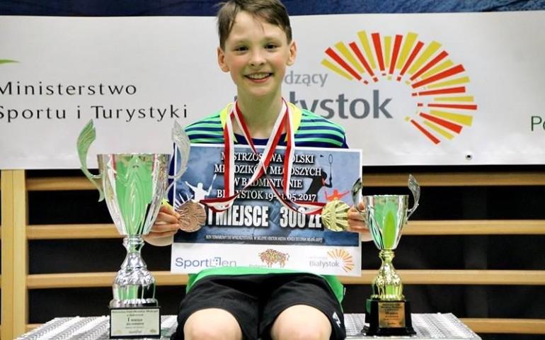 Maksymilian Danielak mistrzem Polski