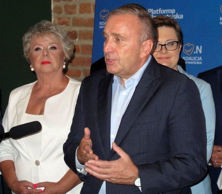 Liderzy Koalicji Obywatelskiej odwiedzili Piotrków