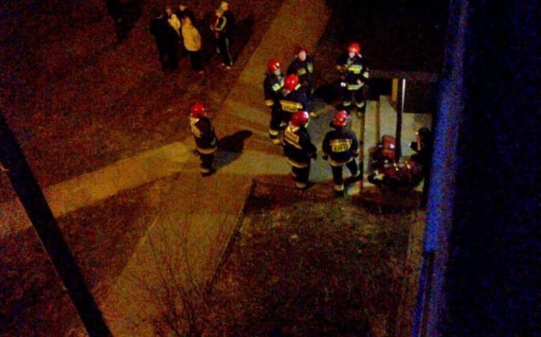Pożar w mieszkaniu przy ul. Kostromskiej