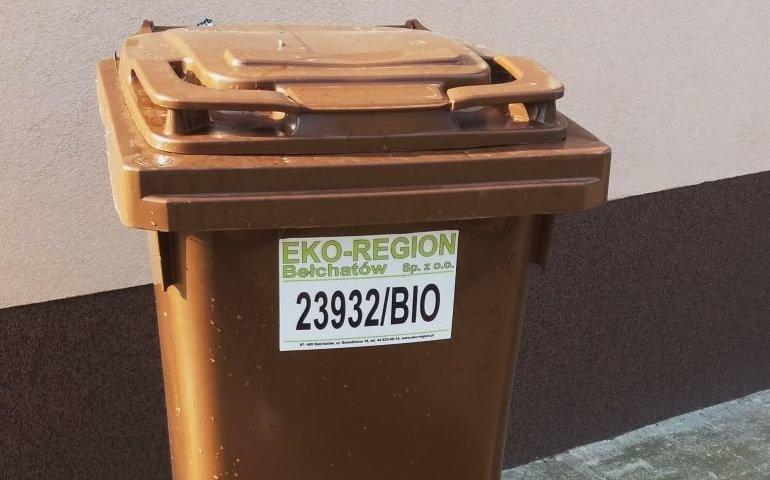Gmina Wola Krzysztoporska: Harmonogram odbioru pojemników BIO
