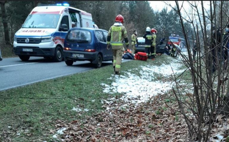 Dwie osoby zginęły w wypadku w gm. Ręczno